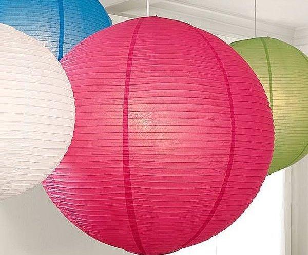 lamparas-de-papel-redondas-de-colores